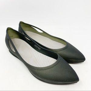 CROCS Shoes - CROCS Rio pointed toe flats
